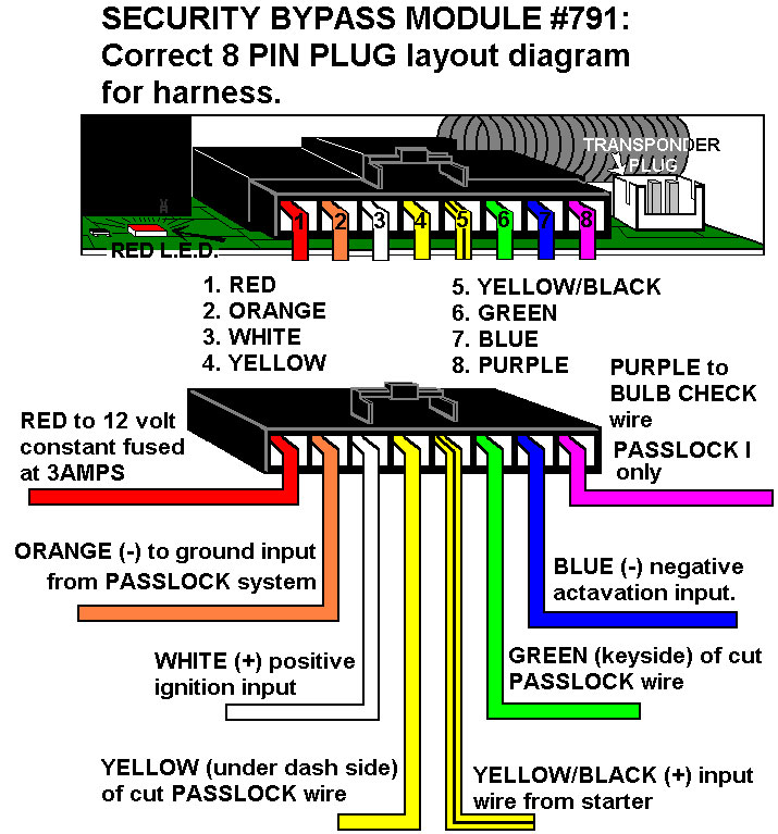 Bulldog 791 Wiring Diagram